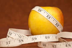 Losing Weight The Healthy Way Stock Image