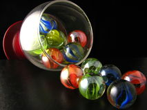 Losing your marbles Stock Photos