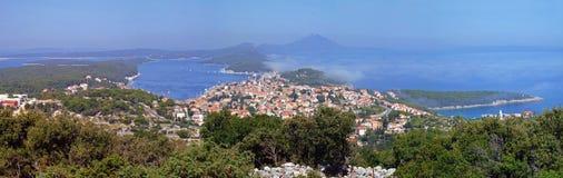 losinj Мали Хорватии стоковые изображения
