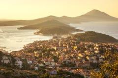 losinj Мали Хорватии стоковое изображение rf