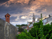 Losinj church. View of the local church in Mali Losinj, island Losinj, Croatia Stock Images