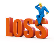 Loss concept Stock Photography