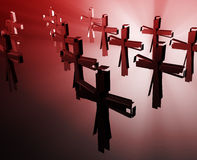 Loss of faith religion Royalty Free Stock Images