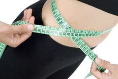 Loss of weight Royalty Free Stock Photography
