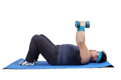 Loss weight exercise 2 Royalty Free Stock Images