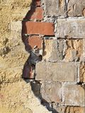 Losse pleisterverticaal Royalty-vrije Stock Fotografie