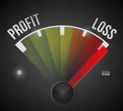 Losses concept illustration design diagram Stock Images