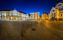 Lossi Plats fyrkanten och Alexander Nevski Cathedral Fotografering för Bildbyråer