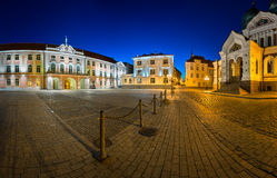 Lossi Plats la place et l'Alexander Nevski Cathedral Image stock