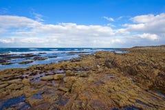 lossiemouth залива западное стоковое изображение rf