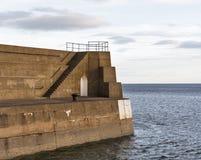 Lossiemouth, конец пристаней. Стоковое Изображение RF