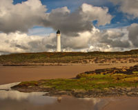 Lossiemouth - Covesea Lifghthouse Royalty Free Stock Photography