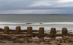 Lossiemouth, Ghostly Waves Stock Photo