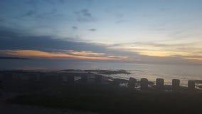 Lossiemouth Moray coast stock image