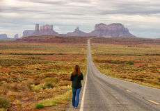 Lost, alone and wandering Royalty Free Stock Photo