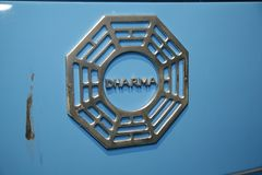 Lost Auction DHARMA Initiative Logo Stock Photo