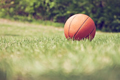 Lost Basketball Royalty Free Stock Photos