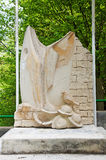 Lost Battalion monument Stock Photography