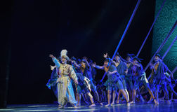 """Lost the best friend -Dance drama """"The Dream of Maritime Silk Road"""" Stock Photography"""