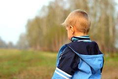 Lost boy Stock Photography