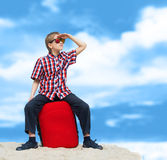 Lost boy Royalty Free Stock Photos
