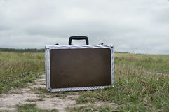 Lost Briefcase stock images