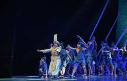 """Lost brother-Dance drama """"The Dream of Maritime Silk Road"""" Royalty Free Stock Photography"""