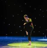 The lost child-Modern dance. Graduation performance of class5, grade 11, dancing department,Jiangxi Vocational Academy of Art on Dec 26,2015 Stock Photos