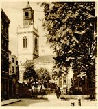 lost church: St Mary Aldermanbury Stock Photo