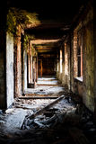 Lost city. Abandoned construction. Lost city. Ruins of the abandoned construction Royalty Free Stock Images