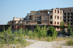 Lost City. Chernobyl Area. Stock Image