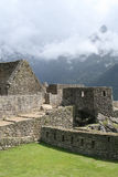 The Lost City of Machu Picchu. Residential sector of the lost City of Machu Picchu Stock Image