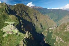 Lost city Machu Picchu Royalty Free Stock Photography