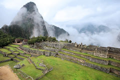 Lost City of Machu Picchu - Peru Stock Image