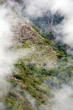 Lost City of Machu Picchu - Peru Royalty Free Stock Images