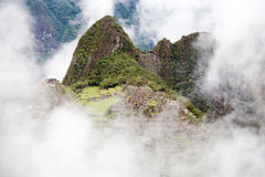 Lost City of Machu Picchu - Peru Royalty Free Stock Image