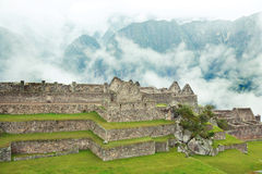 Lost City of Machu Picchu - Peru Royalty Free Stock Photos