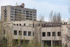 Lost city. Near Chernobyl area. Kiev region, Ukraine Royalty Free Stock Image