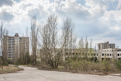 Lost city. Near Chernobyl area. Lost city  near Chernobyl area in Kiev region, Ukraine Stock Photography