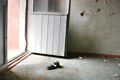 Lost city Pripyat. Kindergarten.Chernobyl area. Lost city Pripyat. Modern ruins. Ukraine. Kiev region Royalty Free Stock Images