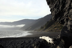 Lost Coast. The isolated sands of Northern California's Lost Coast Royalty Free Stock Photography
