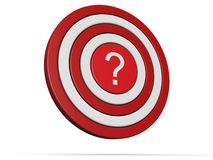Lost and confusion target concept Stock Images