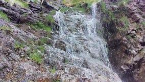 Lost Creek fällt Frühling stock footage