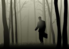 Lost In The Dark Stock Photography
