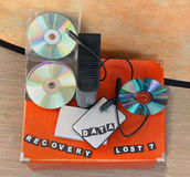 Lost data recovery Stock Images