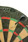 Lost deal. Concept of having business success by throwing darts Stock Images