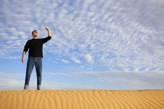 Lost in the Desert Stock Photos