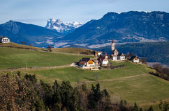 Lost in Dolomites Royalty Free Stock Image