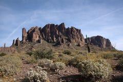 Lost Dutchman State Park, Arizona, USA Stock Photos