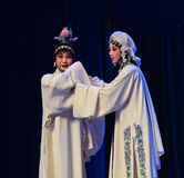 """Lost father's pain- Beijing Opera"""" Women Generals of Yang Family"""" Stock Image"""